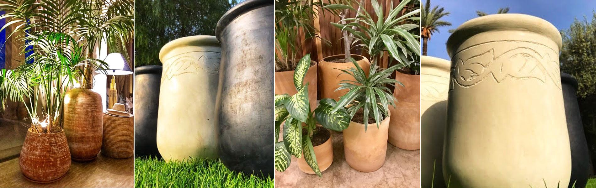 Dandy Beldi Grands Pots Et Vases De Jardin En Terre Cuite